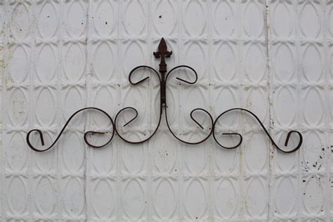 garden wall decor wrought iron wrought iron fancy wall decor