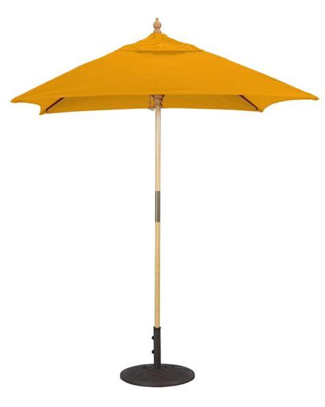 wooden patio umbrella 6x6 wood square patio umbrella