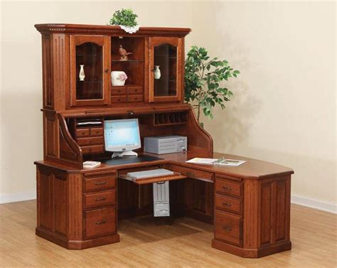 beautiful office desk beautiful corner desk with hutch for home office gorgeous
