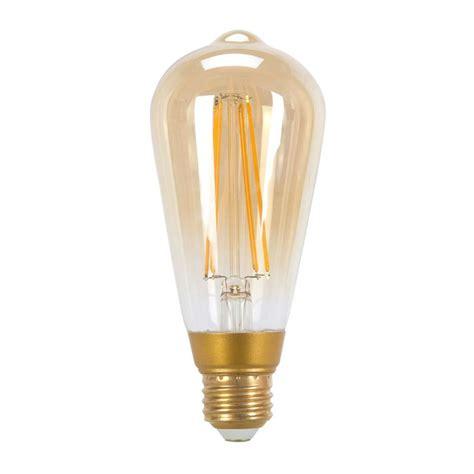 led vintage light bulbs globe electric 60w equivalent soft white 2200k vintage