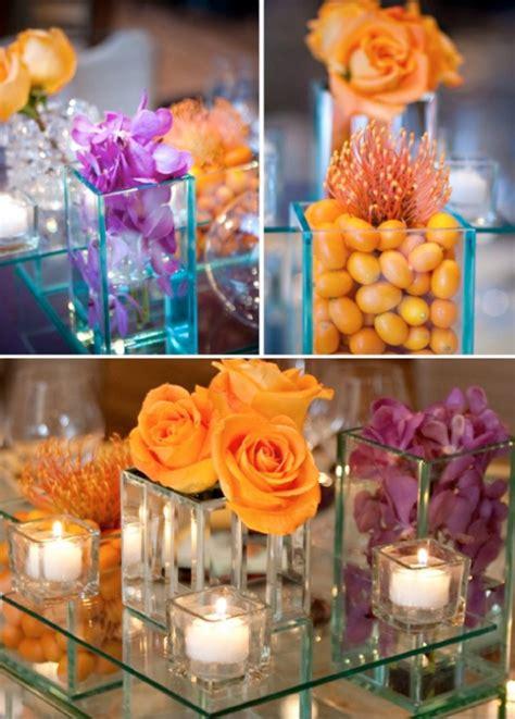 orange and purple decorating ideas purple and orange wedding theme weddings by lilly