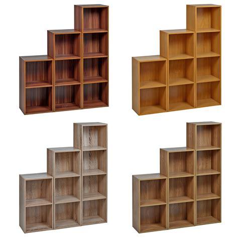 2 shelf bookshelves 1 2 3 4 tier wooden bookcase shelving display storage