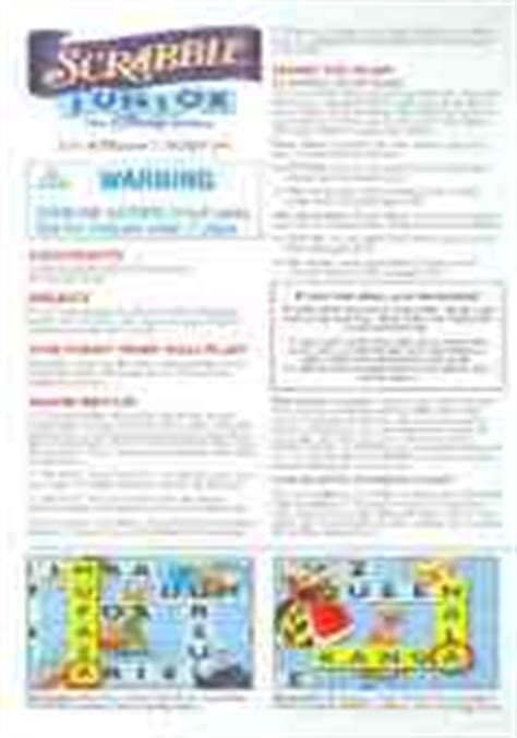 scrabble rule book pdf hasbro scrabble jr disney edition user