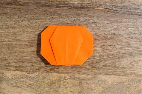 origami pumpkin easy pumpkin origami all for the boys
