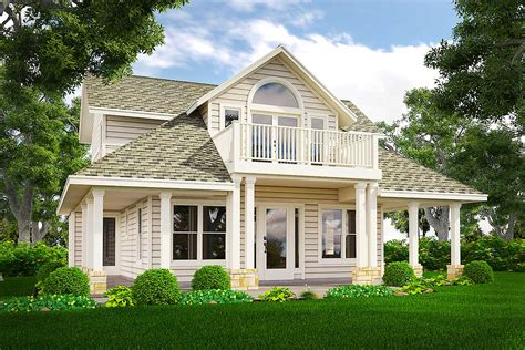house plans with balcony loft with balcony 31118d architectural designs house plans
