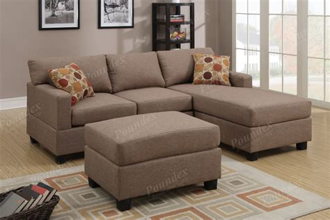 reversible chaise sectional sofa reversible poundex sofa corner sectional chaise set w 2