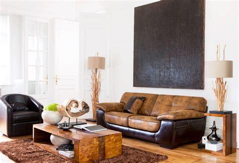 bois et chiffons fauteuil photo 5 20 joli canap 233 brun clair et brun fonc 233 dans un