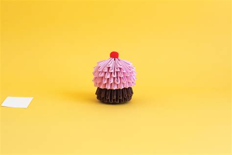 origami cupcake origami cupcake diy for is sweet sweet how to