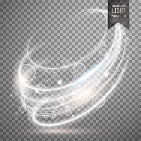 transparent lights transparent light effect background vector free