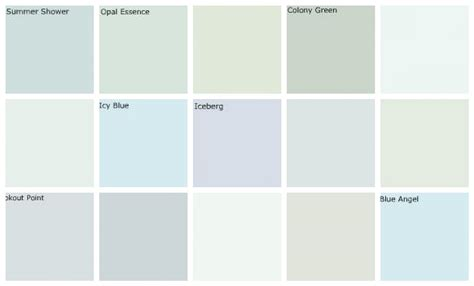 paint colors blue green light blue paint colors designers favorites top row