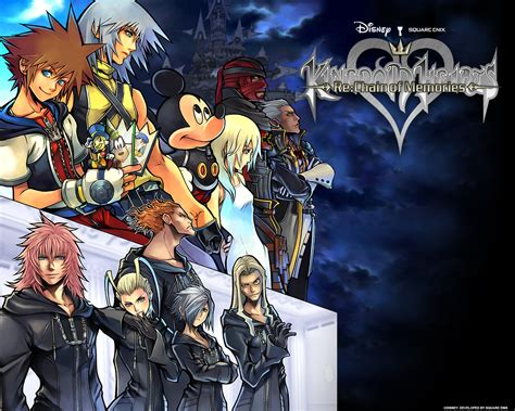 kh chain of memories kingdom hearts re chain of memories characters bomb