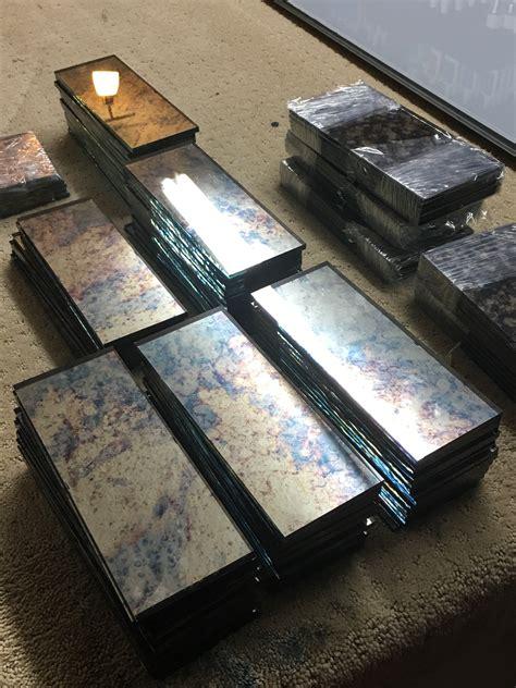 Accessible Bathroom Design antique mirror tiles the glass shoppe a division of