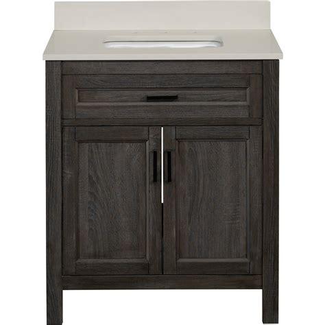30 bathroom vanity with sink shop living durham gray single sink bathroom vanity