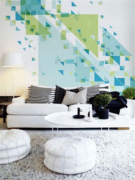 geometric wall decor 24 stylish geometric wall d 233 cor ideas digsdigs