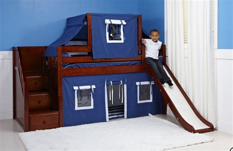boy bunk bed with slide slide beds shop top selling bunks lofts with