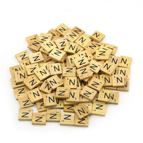 wooden scrabble set wooden scrabble tiles letter alphabet set for scrapbooking