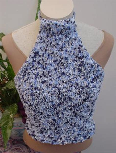 knit halter top pattern clara halter top knitting pattern free knitting patterns