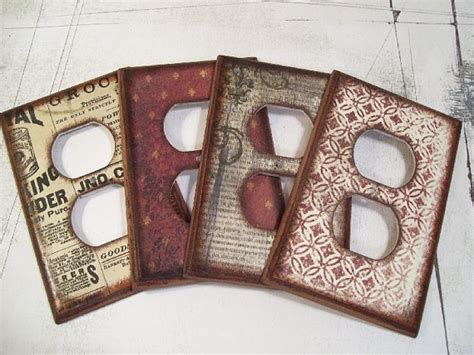 decoupage switch plates 260 best images about decoupage ideas on