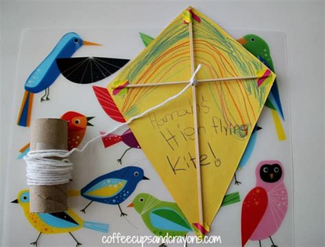for kindergarteners to make wind activities for coffee cups and crayons