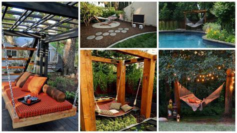 ideas for your backyard 12 hammock ideas for your backyard relaxation area