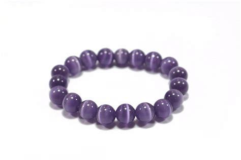 cheap bead bracelets aliexpress buy wholesale opal bead bracelet purple