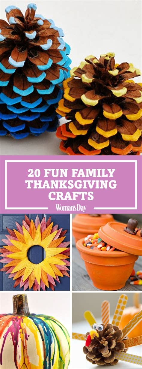 cool thanksgiving crafts for 29 thanksgiving crafts for easy diy ideas to