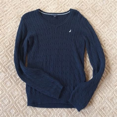 navy blue cable knit sweater sale nautical navy blue cable knit sweater from