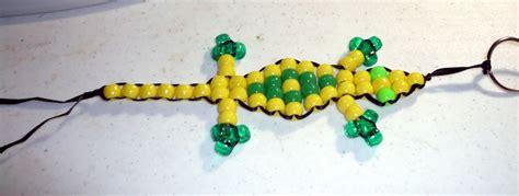 pony bead lizard 3 ways to make a beaded lizard wikihow