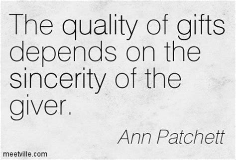 quotes on gifts patchett quotes ideas with images