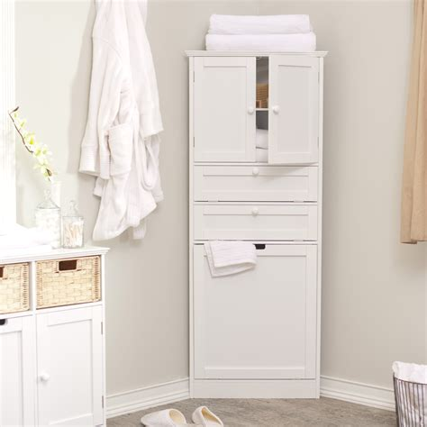 bathroom storage cabinet with drawers white corner bathroom storage cabinet with doors and