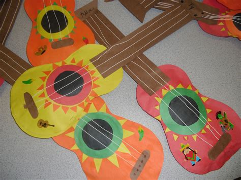 guitar crafts for cinco de mayo arts and crafts for cinco de mayo