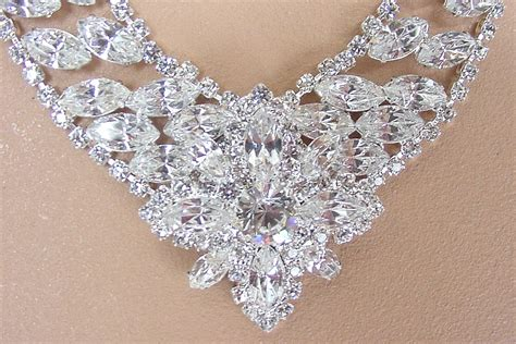 how to make rhinestone jewelry swarovski austrian rhinestone necklace and