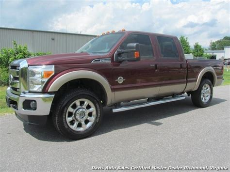 2011 Ford F250 by 2011 Ford F 250 Duty Lariat Fx4 4x4 Crew Cab Bed