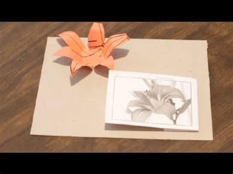 crafts out of paper how to make tiger lilies out of paper paper crafts