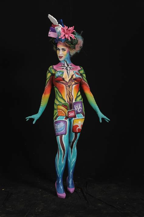 where is painting festival these photos of the 2014 world bodypainting festival will