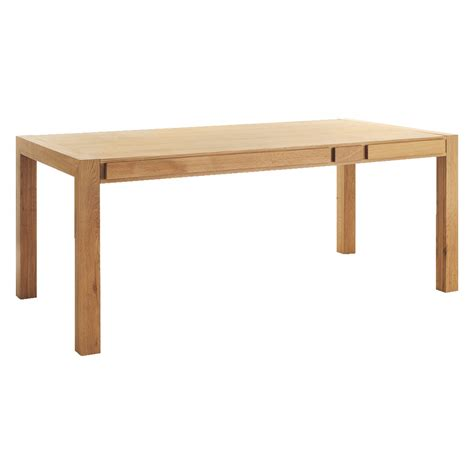table with storage hana 6 seat oak dining table with storage buy now at