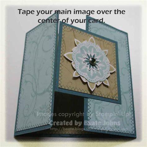 card tutorials on gate fold card tutorial 187 fresh