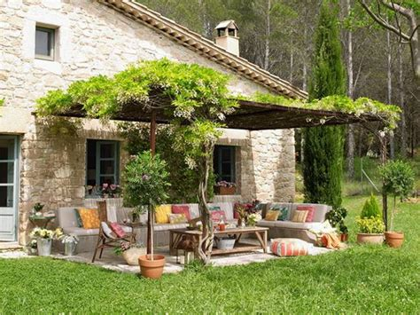 backyard decorating ideas home bringing bright color accents into outdoor rooms before