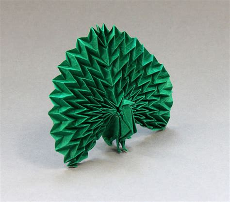 origami peacock beautiful exles of origami paper hongkiat