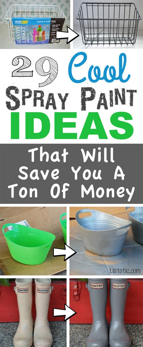 spray paint projects 29 easy spray paint ideas that will save you a ton of money