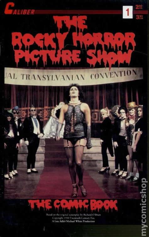 rocky horror picture show book rocky horror picture show the comic book 1990 comic books
