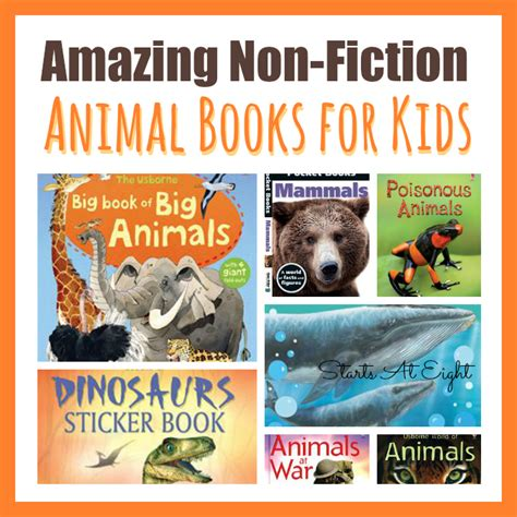 non fiction picture books 15 awesome non fiction animal books for startsateight