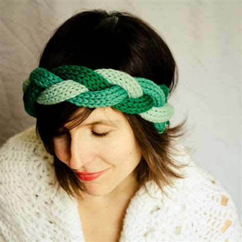 how to knit headbands braided knit headband via etsy d i y
