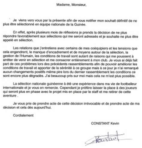Modification Du Contrat De Travail Pour Raison Personnelle by Lettre De Demission Geneve Application Letter