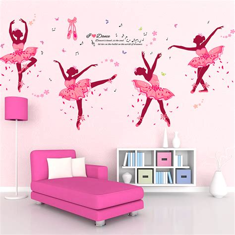 wall stickers for rooms diy wall decor ballet wall stickers for