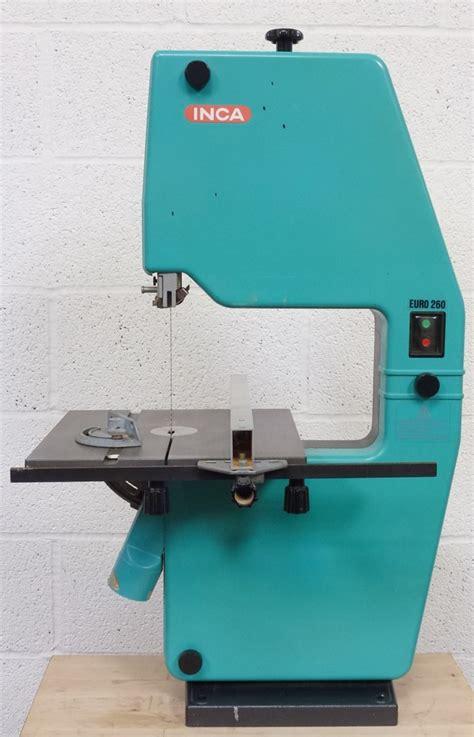 inca tools woodworking inca 260 bench band saw 171 pennyfarthing tools ltd