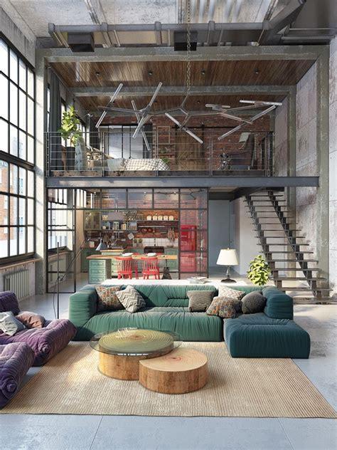 loft decor reinvention of an industrial loft space home decor trends
