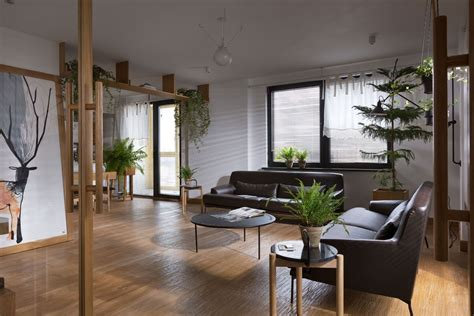 Modern Industrial Home Decor apartment jazzed up with plants for air purification