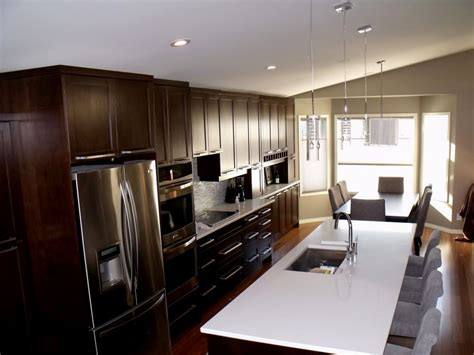 one wall kitchen with island designs one wall kitchen designs with an island railing stairs and kitchen design great one