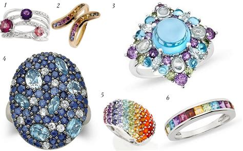 gemstone for jewelry colored gemstone engagement rings jewelry
